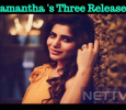 Samantha To Have Three Films In A Row! Tamil News