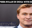 Christopher Nolan Visits India With His Family! Tamil News