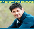 Mahesh Babu Will Have Two Releases In 2018! Tamil News