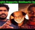 Pa Ranjith Supports; Siddharth Opposes! Tamil News