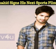 After Dil Bole Hadippa Shahid Signs His Next Sports Film!