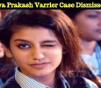 Case On Priya Prakash Varrier Dismissed By The Supreme Court!
