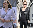 Chrissy Teigen And Anne Hathaway Appear In Public With Ther Baby Bumps! English News