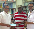 Comedy Actor MS Bhaskar Contributes Rs. 1 Lakh To The Flood Relief!