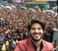 Dulquer's Selfie With His Crazy Fans In Calicut! Malayalam News