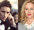Eddie Redmayne's Meeting With Rowling!