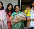 Riteish And Genelia With Their Kids!