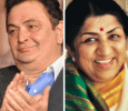 Rishi Kapoor Thanks  Lata Mangeshkar