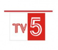 Telugu Channel TV5 Logo