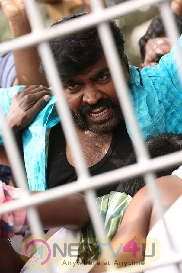 Vijay Sethupathi & Paneer Selvam Untitled Project Produced By A M Rathnam Shoot Started Yesterday Stills