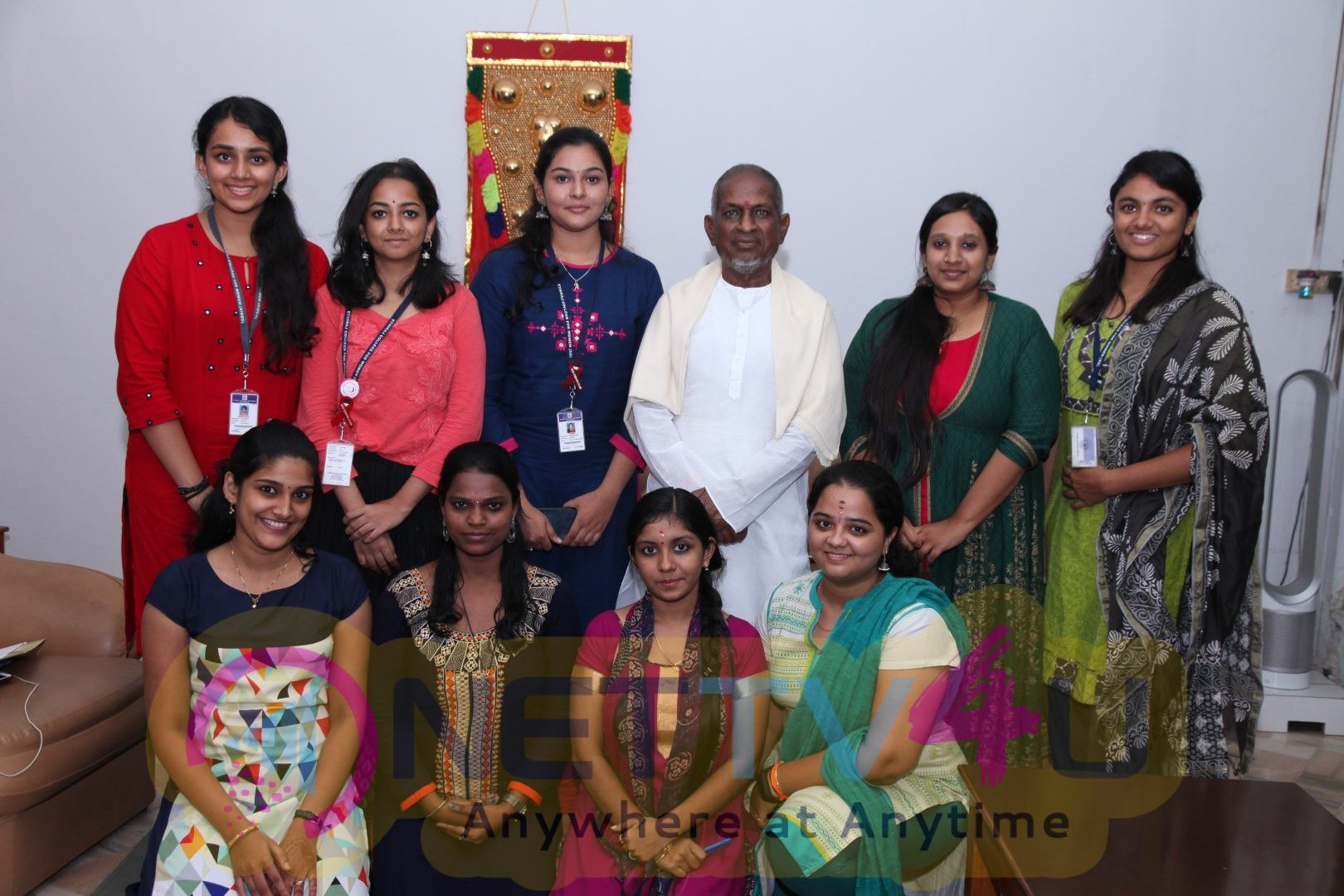 Ilayaraja Selected 9 Of The Students Be Singing Soon For The Composer In His Films Pics