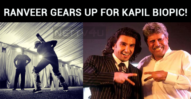 Ranveer Gears Up For Kapil Dev Biopic!