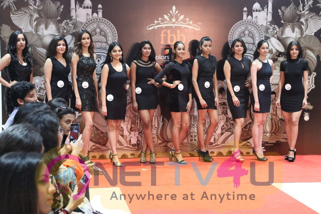 55th FBB Colors Femina Miss India 2018 Images
