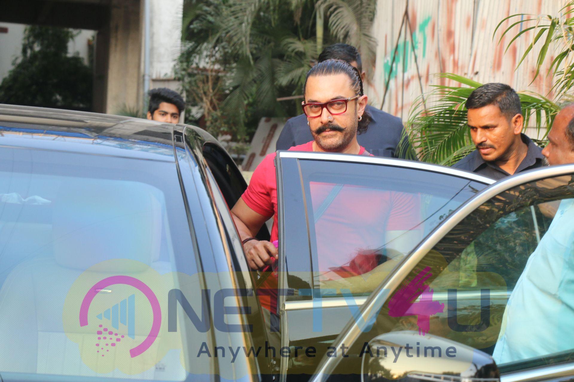 Aamir Khan Spotted At Sukho Thai Spa Hindi Gallery