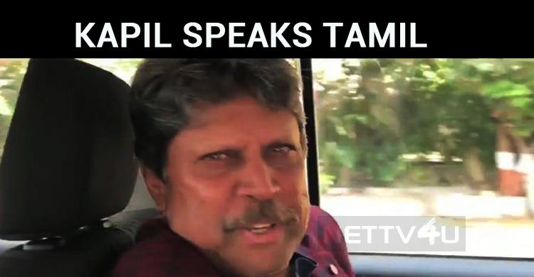 Kapil Speaks Beautiful Tamil! Wishes RJ Balaji For LKG's Success!