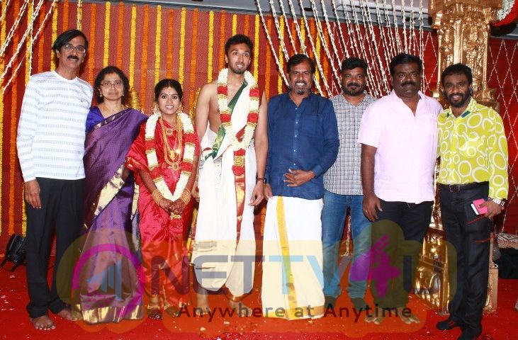 Manobala Son Marriage Images