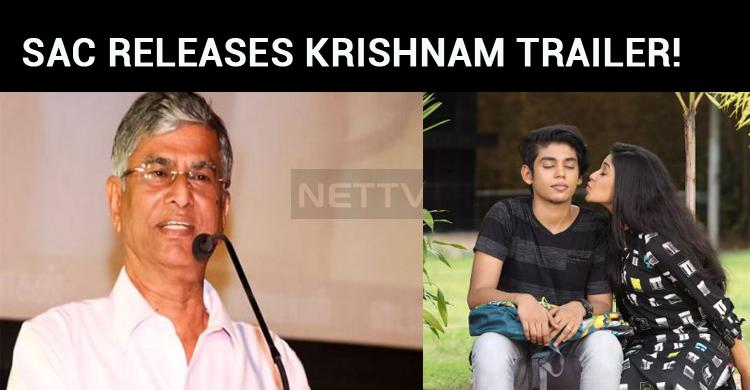 Thalapathy Vijay's Dad Releases Krishnam Traile..