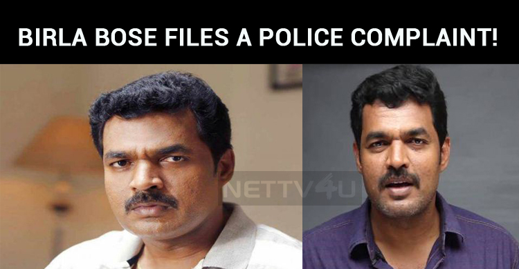 Vishal Movie Actor Files A Police Complaint!