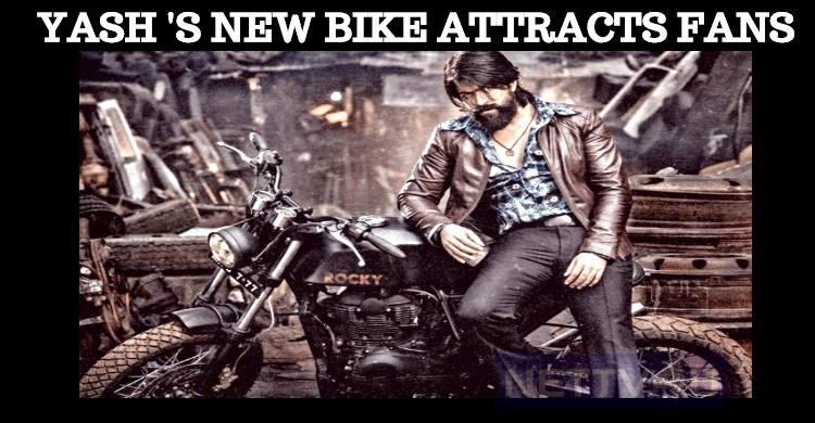New Model Bike Designed For Yash In KGF!
