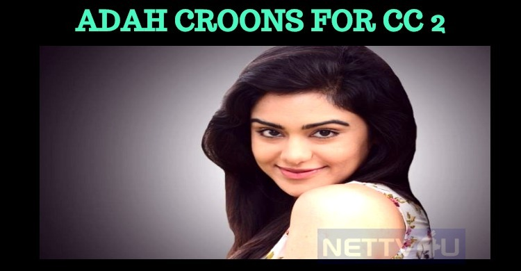 Popular Actress Croons For Prabhu Deva Movie!