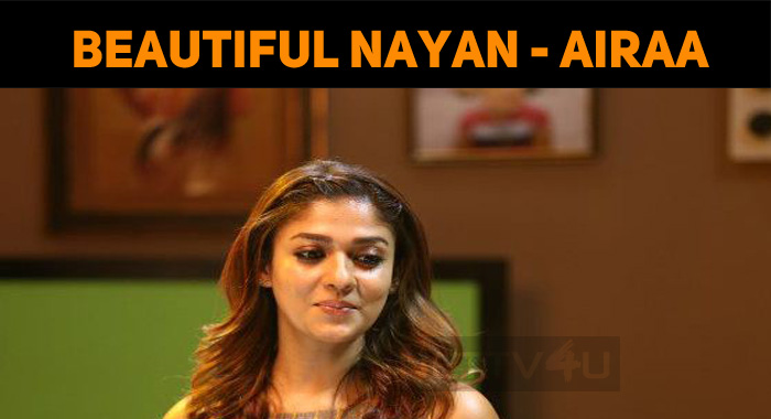 Beautiful Nayanthara From The Sets Of Airaa!