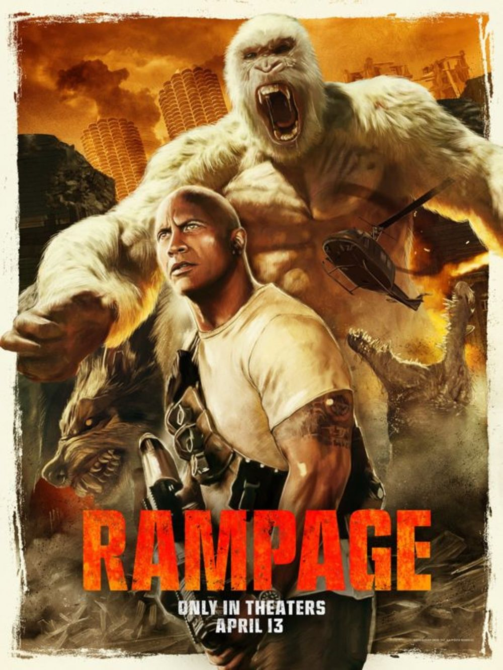 Rampage Movie Review English Movie Review