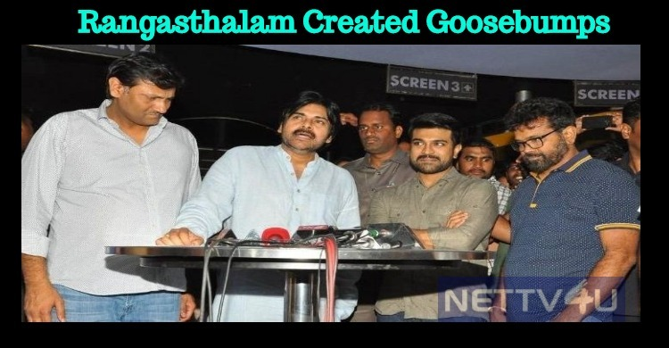 Rangasthalam Created Goosebumps For This Star!