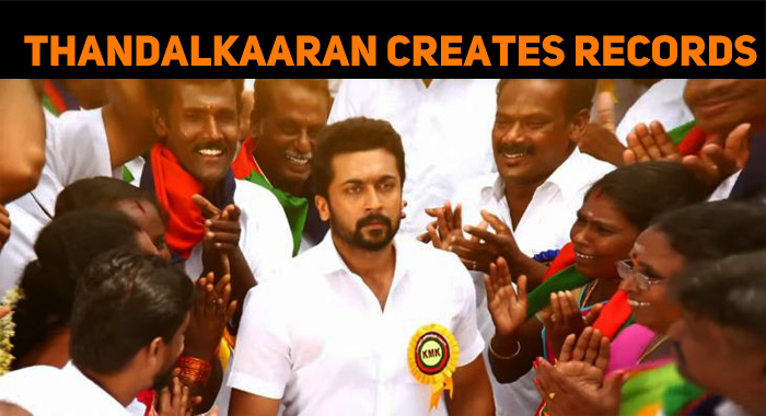 NGK Thandalkaaran Creates Records!