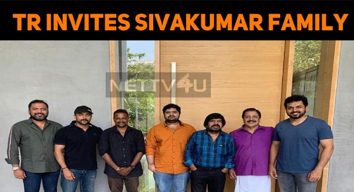 T Rajendar Invited Sivakumar Family To His Son's Wedding!