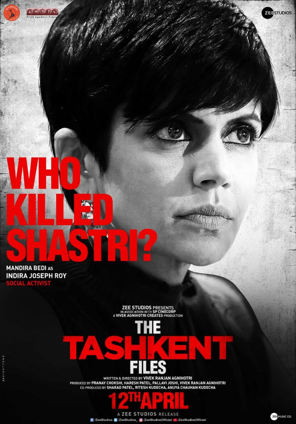 The Tashkent Files Movie Review Hindi Movie Review