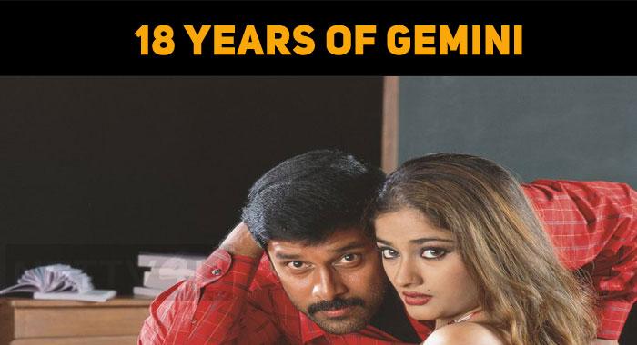 Chiyaan Vikram's Gemini Celebrates 18 Years!