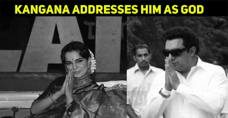 Kangana Addresses A Legendary Tamil Politician ..