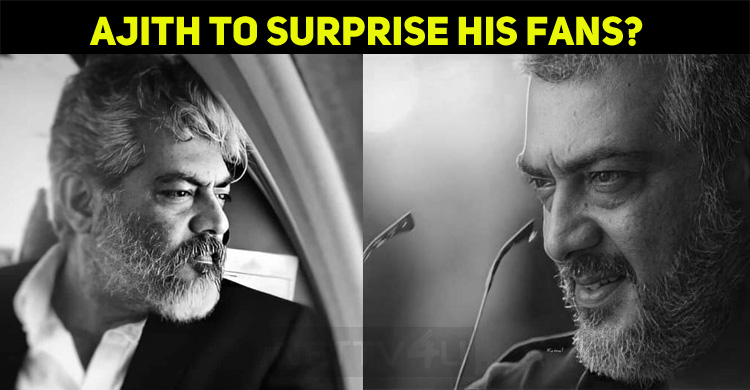 Thala Ajith's First Attempt To Surprise His Fan..