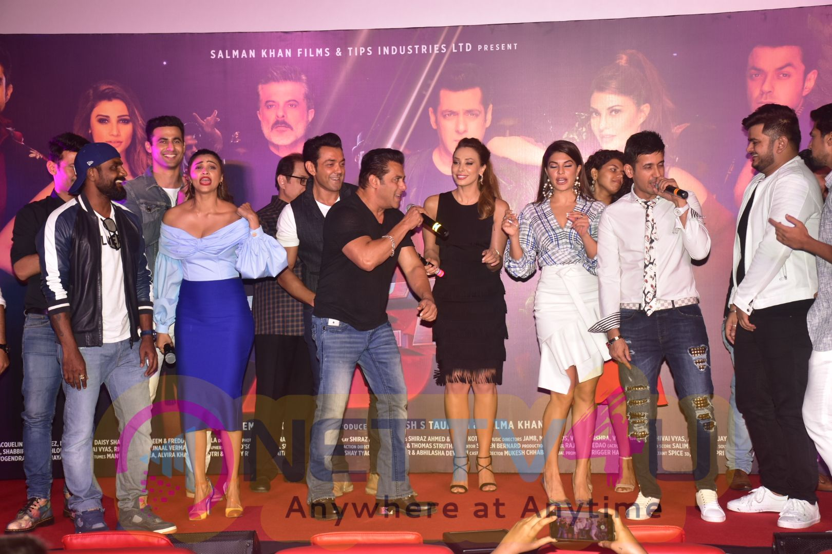 Race3 Song Launch Images Hindi Gallery