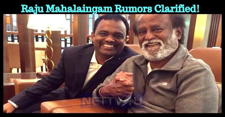 Clarification From Rajini's Side!