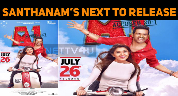 Santhanam's Next To Hit The Screens This July!