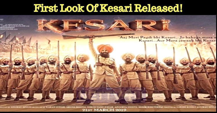 First Look Of Kesari Released!