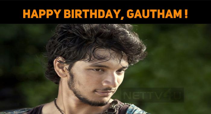 Happy Birthday, Gautham Karthik!