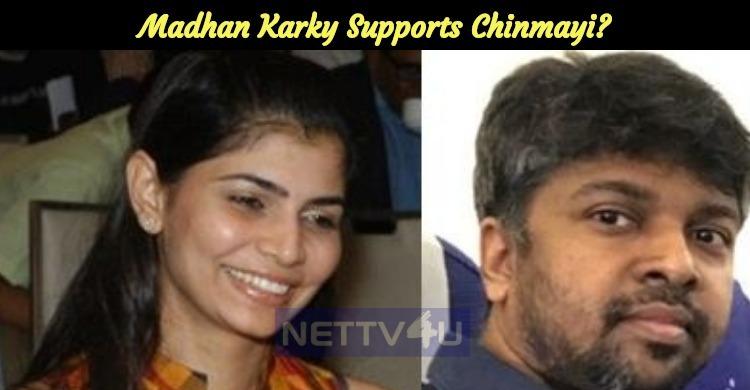 Madhan Karky Supports Chinmayi?