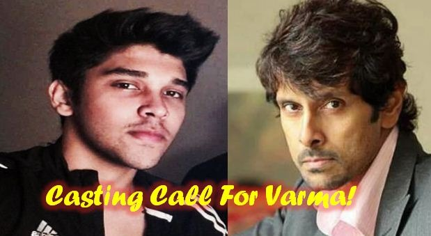 Vikram Posts A Video On His Insta Searching Varma Heroine!
