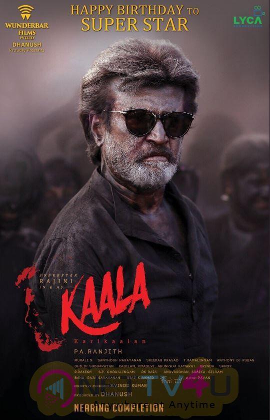 Kaala Movie Posters
