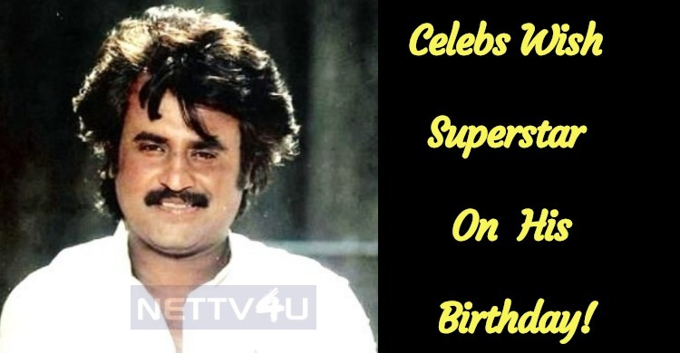 Celebs Wish Superstar On His Birthday!