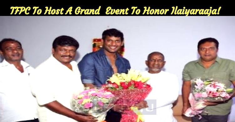 TFPC To Host A Grand Honorable Event For Maestr..