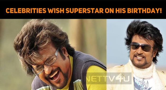 Celebrities Wish Superstar On His Birthday!