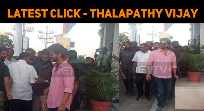 Latest Click – Thalapathy Vijay!