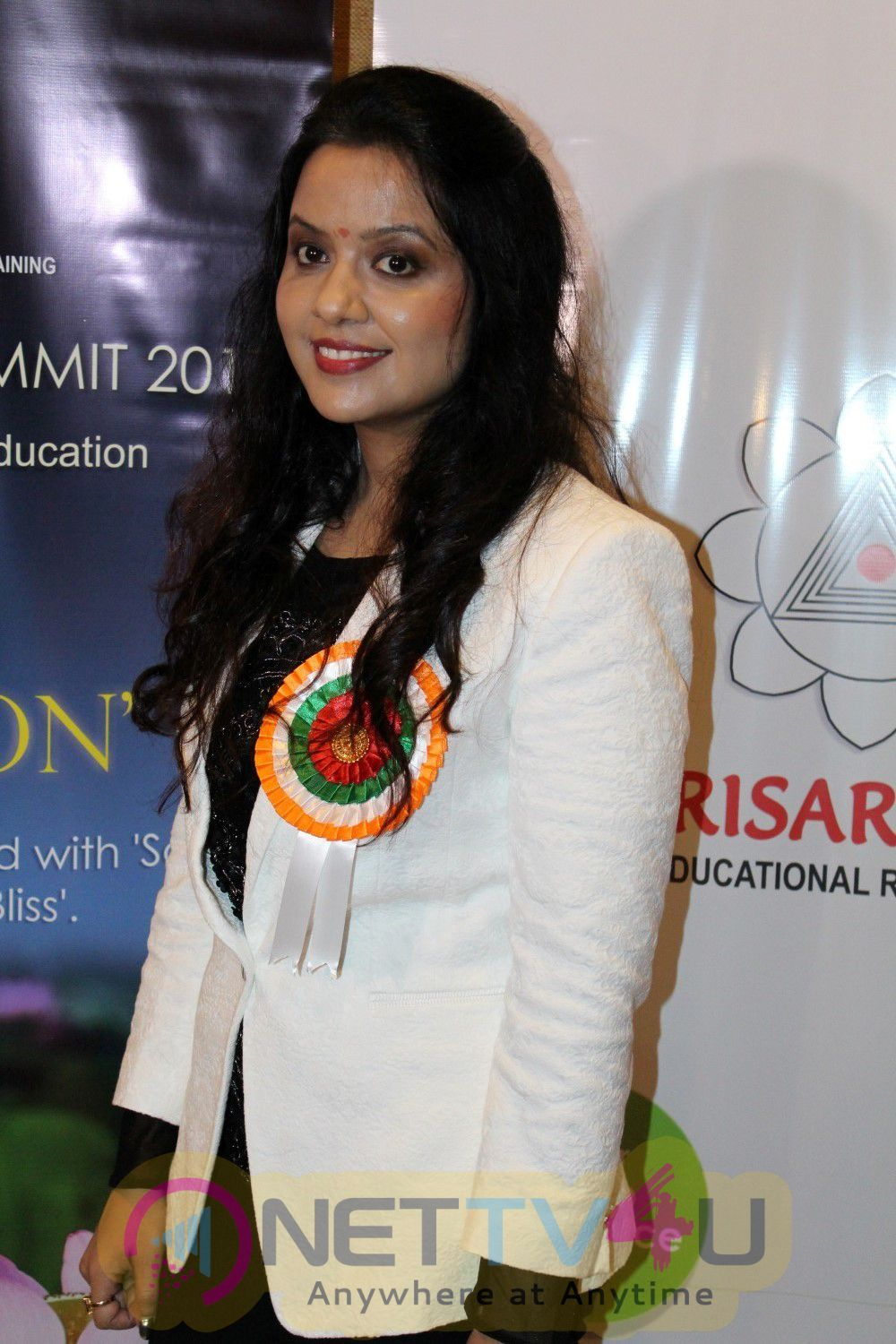 Shekhar Suman & Amruta Fadnavis At Host Soul In Education For Educators Stills