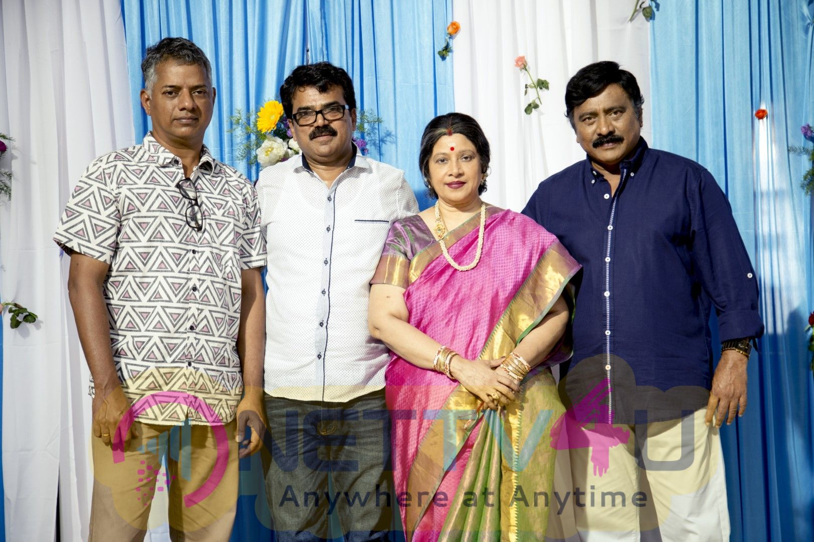 100 Percent Kaadhal Team Celebrated Pongal In The Sets  Images