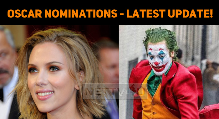 Oscar Nominations - Latest Update!