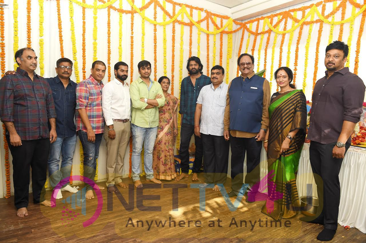 Young Rebel Star Prabhas New Film Launch