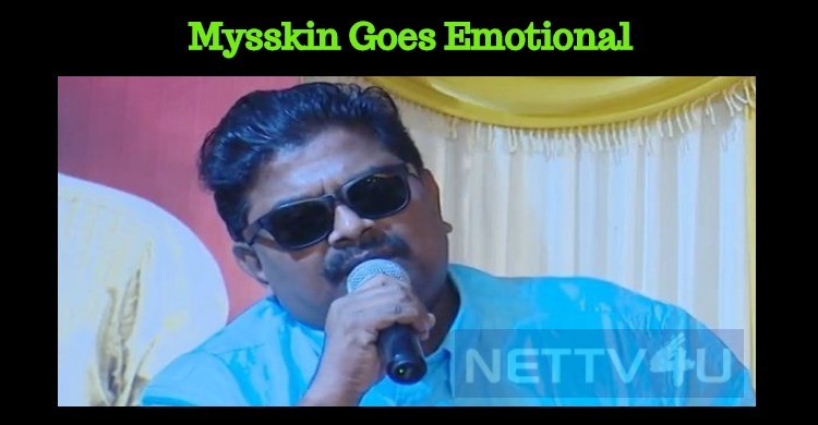 Mysskin Goes Emotional At The Success Meet Of Savarakathi! Tamil News